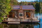 Copper Clad Boathouse